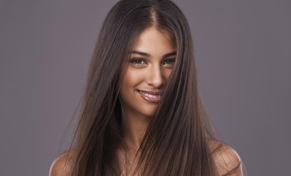 image for  Cut, Blow-Dry and Brazilian Keratin Treatment at Beauty 24 Fit