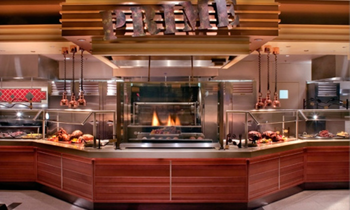 Flavors, the Buffet at Harrah's - Las Vegas: All-You-Can-Eat Buffet and Unlimited Drinks for Two at Breakfast, Lunch, or Dinner at Flavors, the Buffet (Half Off)