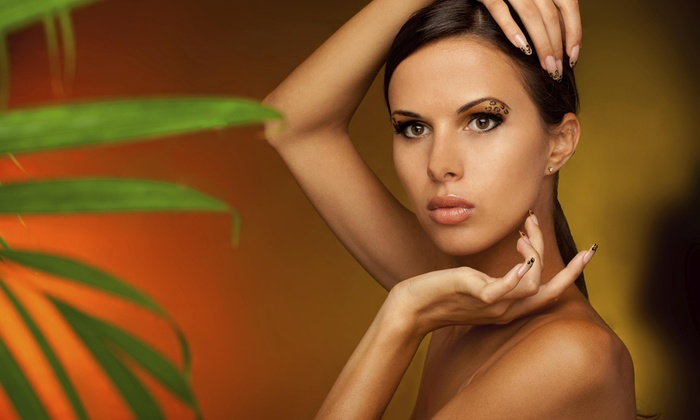 Body Glow Express - Rochelle: One Custom Airbrush Spray Tan at Body Glow Express (64% Off)