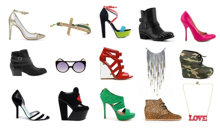 $30 for $60 Worth of Shoes and Accessories from Yellow Plum
