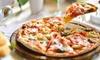 Pizza et dessert pour 2 ou 4