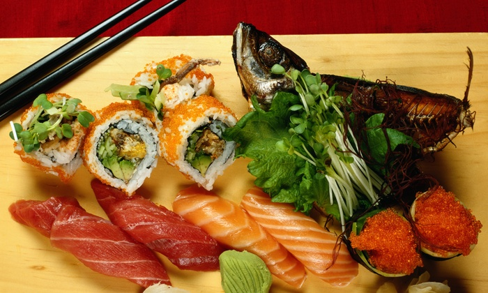 East Moon Japanese Resturant - Lehi: $41 for $70 Worth of Sushi — East Moon Japanese Restauraunt