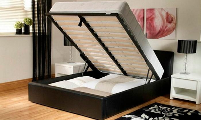 Ottoman Storage Bed Groupon Goods