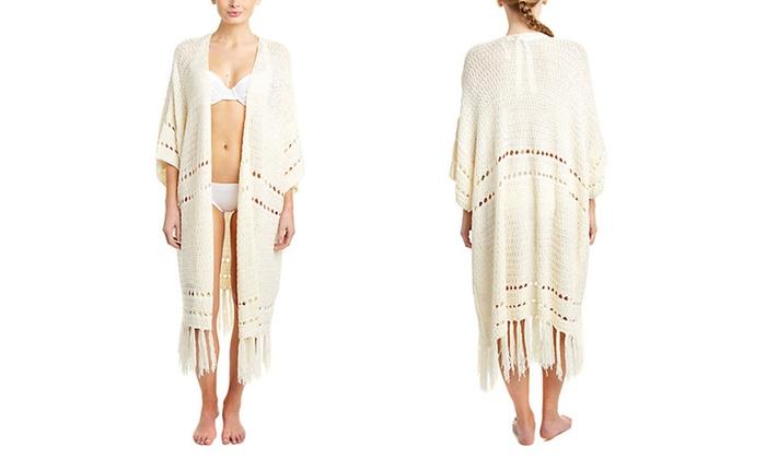 Somedays Lovin Stevie Cream Crochet Kimono: Somedays Lovin Stevie Cream Crochet Kimono