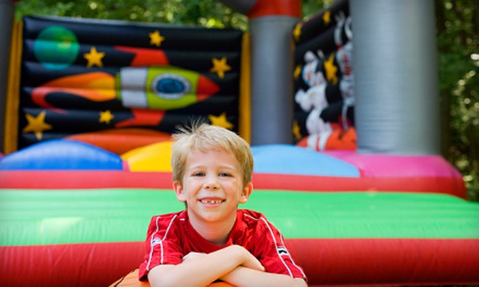 Jump-N-Play - Atlanta: Bounce-House Rental or Inflatable-Slide Rental with Optional Stuffed Animal Activity from Jump-N-Play (Up to 69% Off)