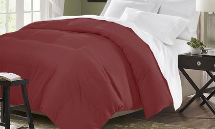 Closeout: Microfiber Down-Blend Comforter