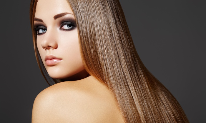 Pat's Place Hair Salon - St. James: Keratin Straightening Treatment from Pats Place Haircutters (58% Off)