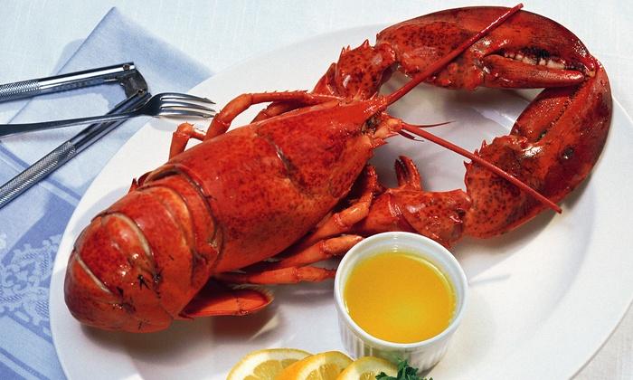 Crab Spot Restaurant - Park Slope: $89 for a Seafood Dinner for Two with Wine at Crab Spot Restaurant ($180 Value)