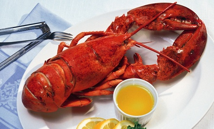 $89 for a Seafood Dinner for Two with Wine at Crab Spot Restaurant ($180 Value)