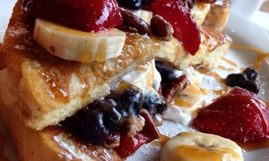 Eggcited Pancake House: Breakfast and Lunch at Eggcited Pancake House (Up to 40% Off). Two Options Available.