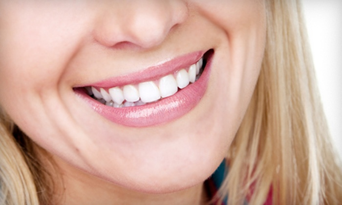 Carmichael Dental - Wilson Estates: Dental Exam, X-rays, and Cleaning or an In-Office Zoom! Teeth-Whitening Session at Carmichael Dental (Up to 89% Off)