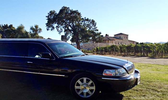 American Luxury Limousine - Ventura County: Four- or Eight-Hour Limo Ride with Bar for Up to Eight People from American Luxury Limousine (Up to 50% Off)