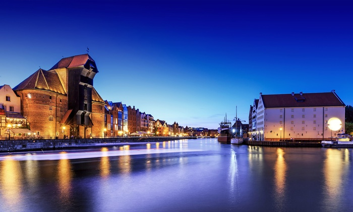 Gdańsk: 2-7 nocy nad morzem