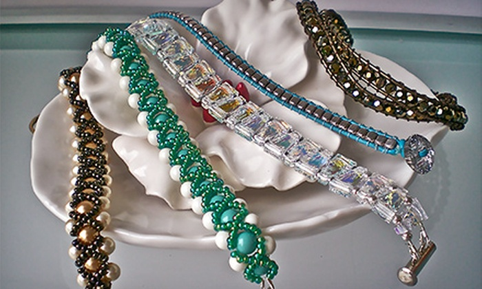 Sarapaan - Multiple Locations: Jewelry-Making Class with $10 Toward Materials for One or Two at Sarapaan (Up to 51% Off)