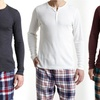 Bottoms Out Men's Thermal Henley Tops