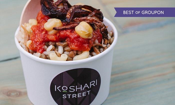 Egyptian Street Food Koshari