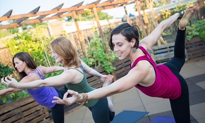 East Side Yoga - Washington: $99 for 10 Yoga Classes at East Side Yoga ($180 Value)