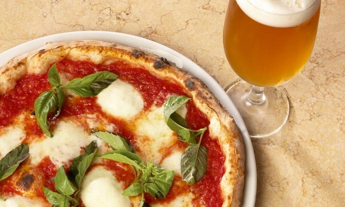 """Ristorante Pizzeria """"Da Gissela"""" - Borgosesia (VC): Menu pizza con antipasto, dolce e birra da 18,90 €"""
