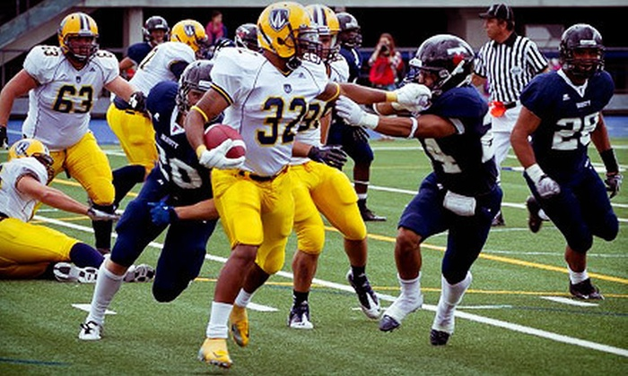 University of Windsor Lancers Football  - University: University of Windsor Lancers Football Game and Merchandise at Alumni Field on Saturday, September 29 (Up to 52% Off)