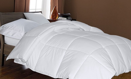 700-Thread-Count Hungarian White Goose Down Comforters from $199.99–$299.99
