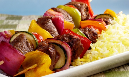 50% Off Indian and Nepalese Food at Ghar-E-Kabab