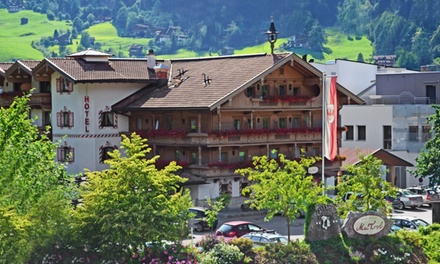 Groupon Deal: 2- or 6-Night Stay for Two with Rental Car and Add-Ons at Gutshof Zillertal Hotel in Austria. Combine Multiple Nights.