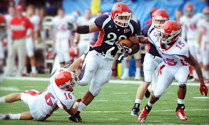 Duquesne University Dukes Football - Bluff: $10 for Duquesne University Football Game for Two at Arthur J. Rooney Athletic Field (Up to $23 Value)