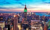 Nighttime Double-Decker Bus Tour and Empire State Building Observatory Admission for Two