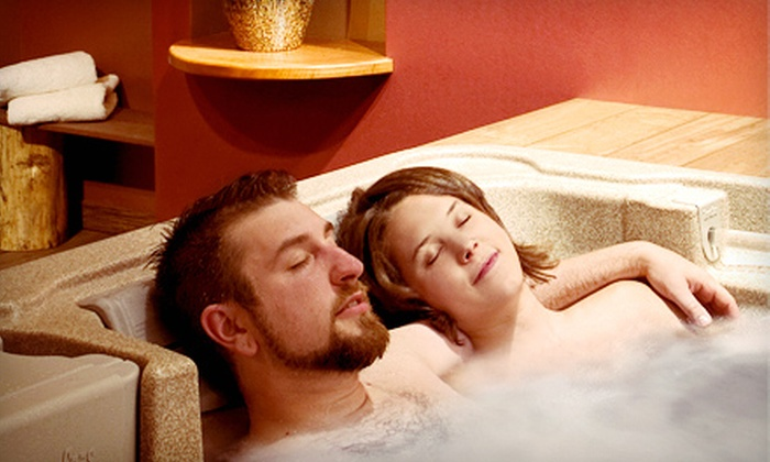 Elements Hot Tub Spa - Amherst Center: One or Two One-Hour Private Hot-Tub Sessions for Two at Elements Hot Tub Spa in Amherst (Up to 54% Off)