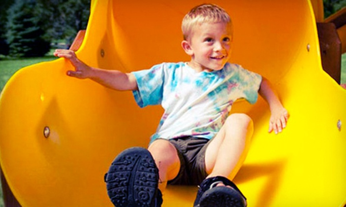Rainbow Play Systems Inc - Denver: 4 or 8 Groupons, Each Good for One Play Session, or a Two-Hour Party at Rainbow Play Systems (Up to Half Off)