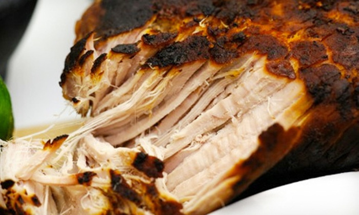 Pig of the Month BBQ: Mail-Order Barbecue and Sauces from Pig of the Month BBQ (Up to 52% Off). Two Options Available.