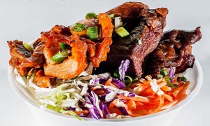 $11 for Two Groupons, Each Good for $10 Worth of Chinese Food at Honey BBQ ($20 Total Value)