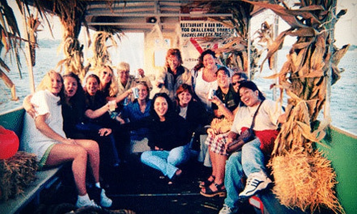 Manasquan Watertaxi - Brielle: Halloween Bar Cruise or Treasure Island Adventure for Two, Four, or Six from Manasquan Water Taxi (Up to 62% Off)