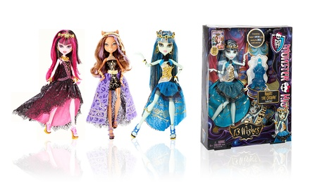 Monster high 13 wishes dolls groupon - 13 souhait monster high ...