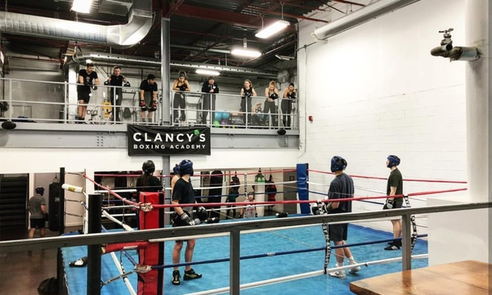 Boxing 101 or Kids Boxing - Clancy's Boxing Academy | Groupon