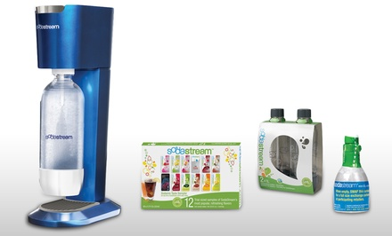 SodaStream Blue Genesis Soda Machine Kit