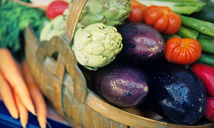 Rhonda's Specialty Foods - Oklahoma City Northeast: $20 for Delivery of a Garden Club Basket of Seasonal, Local Fruits and Veggies from Rhonda's Specialty Foods ($40 Value)