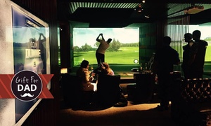 Golf Plus : Golf Simulator for Six People + Beer - One ($39), Two ($78) or Three Hours ($117) at  Golf Plus  (Up to $396 value)