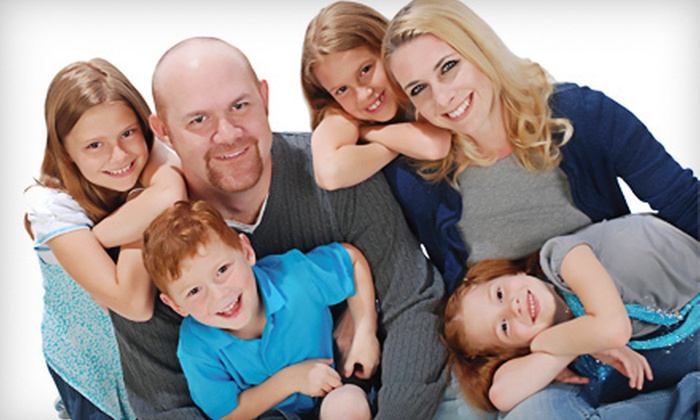 Studio One to One Photography - Multiple Locations: $19 for a 30-Minute Portrait Session with Prints at Studio One to One Photography (Up to $196.80 Value)