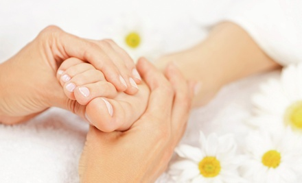 60-Minute Reflexology Foot Massages at Lisa's Beauty Salon (43% Off)