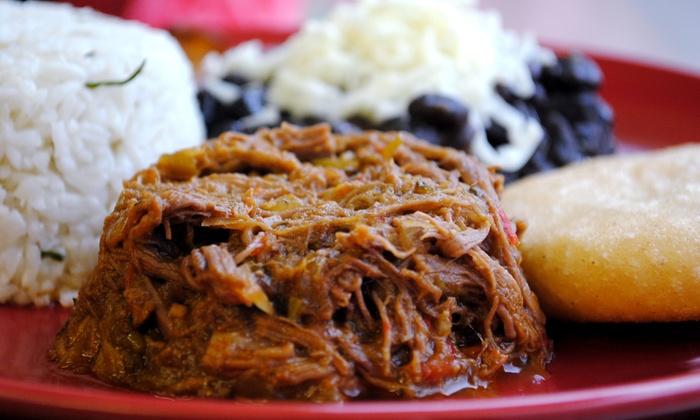 Venezuelan Bowl - River Bluffs: Two or Three Groupons, Each Good for $10 Worth of Venezuelan Cuisine at Venezuelan Bowl (35% Off)