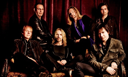 STYX on February 18 at 7:30 p.m.