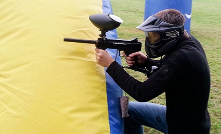 All-Day Paintball Packages for One, Two, or Four at Adventure Sports Park (Up to 59% Off)
