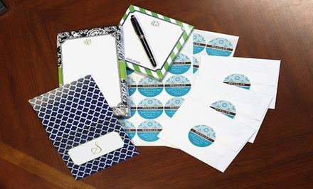 Personalized Stationery, Notepads, and Labels from Paper Concierge