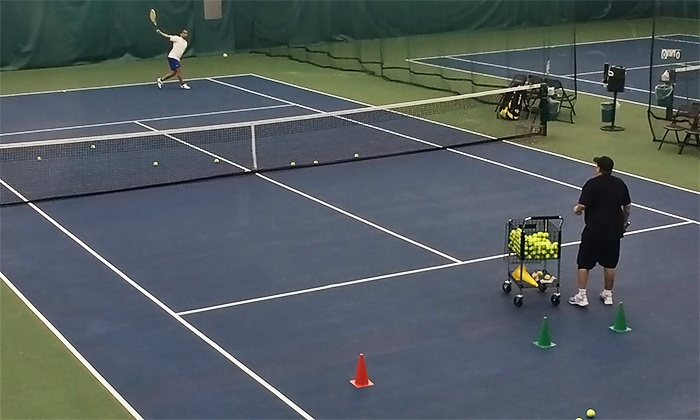 Valley Athletics - Menasha: One or Three Private Tennis Lessons at Valley Athletics (52% Off)