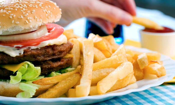 Double E Burger and Ice Cream Shoppe - Highlandville: Burgers, Sandwiches, Hot Dogs, and Drinks at Double E Burger and Ice Cream Shoppe (50% Off).