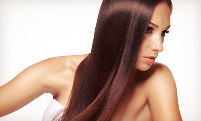 Hair by Yolanda - Swan Way Park: One or Two Hair-Smoothing Keratin Treatments at Hair by Yolanda (Up to 74% Off)