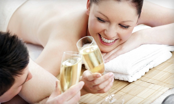 Island Bliss Day Spa - Castleton Corners: One-Hour Swedish or Deep-Tissue Massage or Couples Massage in Private Suite at Island Bliss Day Spa (Up to 70% Off)