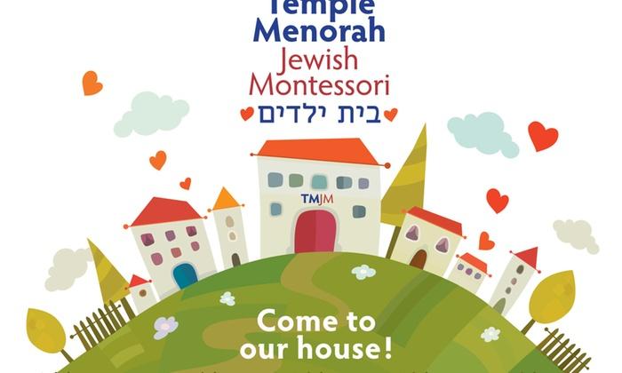 Temple Menorah Jewish Montessori - Altos Del Mar South: $300 for $600 Groupon — Temple Menorah Jewish Montessori