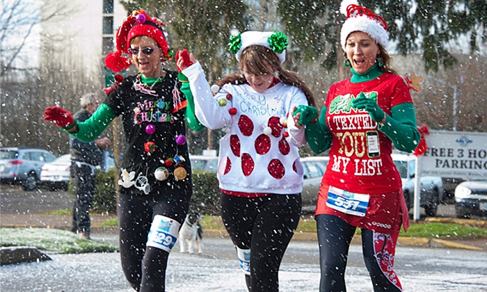 Oregon's Ugliest Sweater Run - Harlow: Race Entry for One, Two, or Three to Oregon's Ugliest Sweater Run (Up to 45% Off)